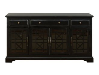 AV275-60  Komoda 4D/3S Avola Antique Black